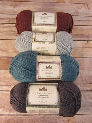 Kraft Village Downton Abbey yarn collection
